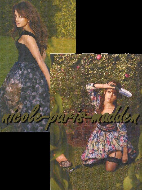 Nicole Richie pour Haper's Bazaar Arabia Octobre 2010