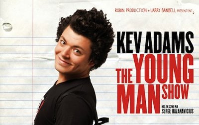 "Sortie DVD ""The Young Man Show"""
