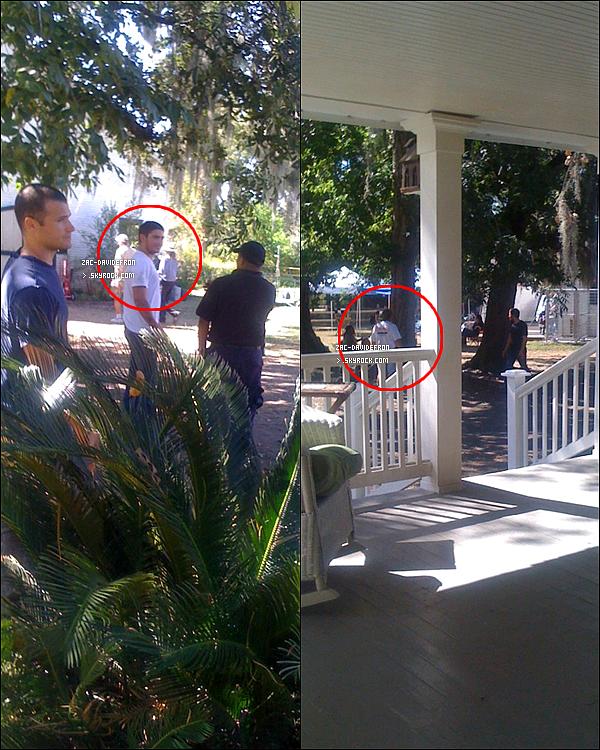 .  13/10/10 - Zac  sur le tournage de The Lucky One  en Nouvelle Orleans avec une nouvelle coupe ! .