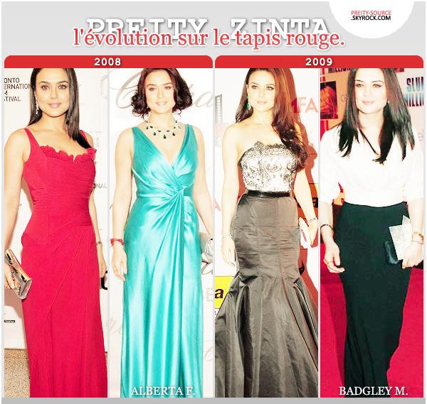 Mode :    Jetons un coup d'oeil sur les 5 dernières années de mode de l'actrice avec la selection de ses plus beaux tapis rouges. Je me doute qu'il y a d'autre centaine belle apparition de l'actrice sur le tapis rouge, je n'ai choisi qu'en fonction des awards et festival de films.