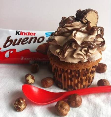 Muffins Kinder Bueno