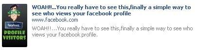 Facebook: ne découvrez surtout pas qui consulte votre profil
