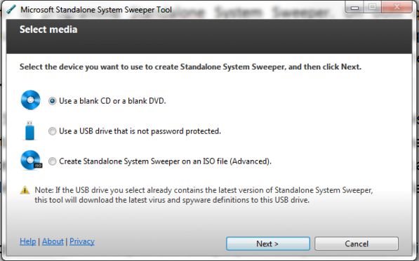Microsoft lance un antivirus « bootable » pour Windows