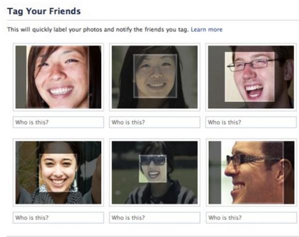 Facebook critiqué pour sa fonction de reconnaissance faciale