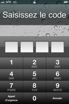 Le top 10 des mots de passe iPhone