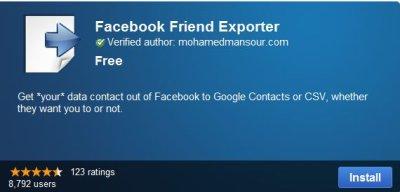 Tous vos amis FB sur Google+ très facilement