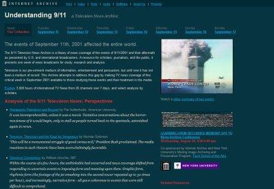 Trois mille heures d'archives de télévision sur le 11 Septembre