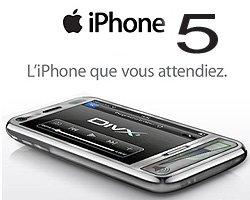 L'iPhone 5 commercialisé dès octobre