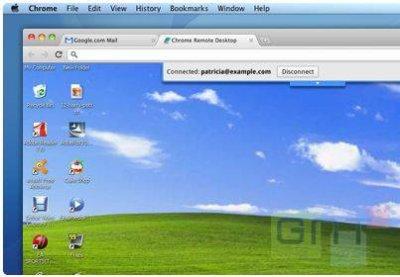 Partager un bureau à distance via Google Chrome