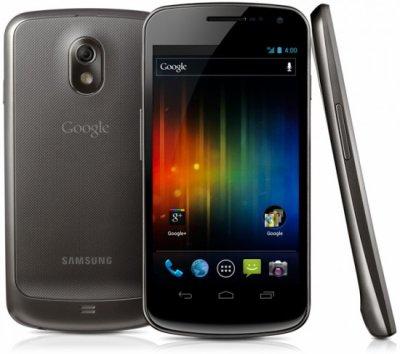 Samsung a présenté son Galaxy Nexus sous Android 4.0