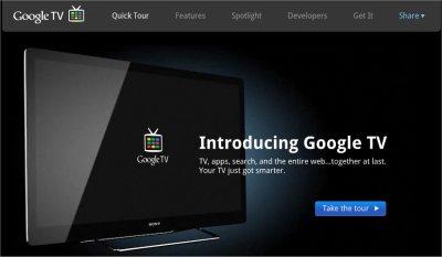 Google TV remis à jour sur Android 3.1