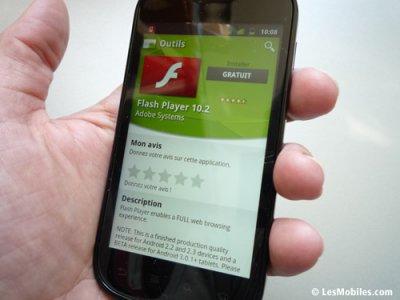 Adobe stoppe le développement du lecteur Flash sur mobiles