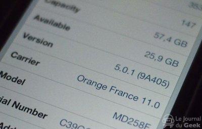 iOS passe en 5.0.1