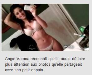 Une ado star sexy de Facebook malgré elle