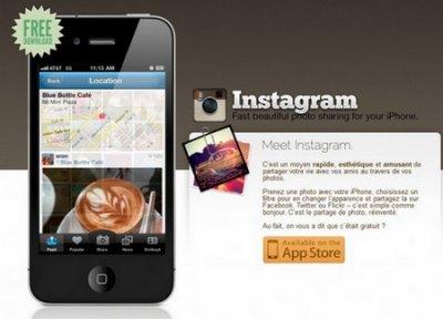 Instagram devient le premier réseau social mobile