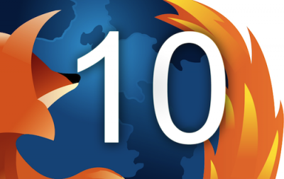 Firefox 10 est en vie !