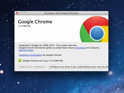 Google Chrome 17 vous salue !