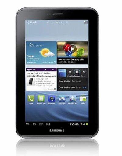 La Galaxy Tab 2 sera disponible sous ICS