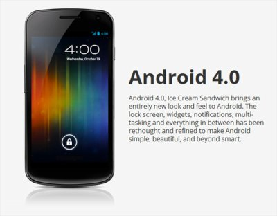 Quels smartphones et tablettes sur Android 4.0 ?