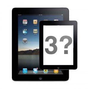 L'iPad 3 serait mis en vente dès le 16 mars