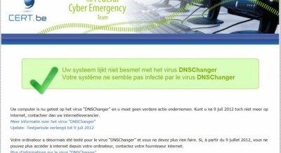 DNSChanger : prolongation de 4 mois (à J-2)