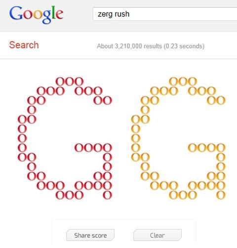 Quand les Zergs envahissent Google