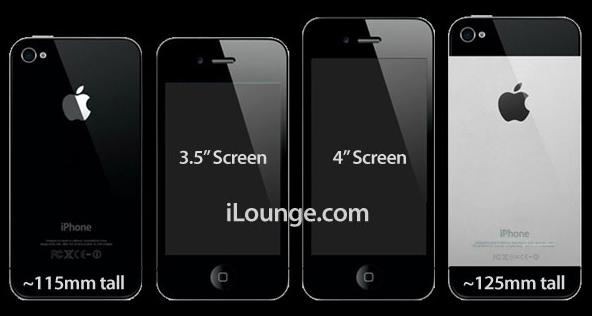 L'iPhone 5 d'Apple pourrait être armé d'un écran de 4 pouces