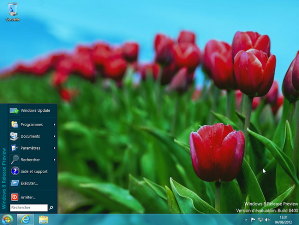 Windows 8 – Comment retrouver le menu Démarrer