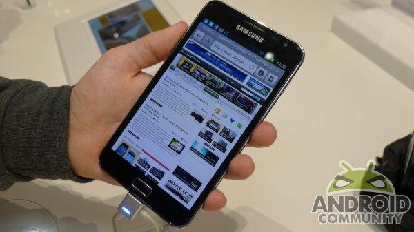 Samsung Galaxy Note 2 : un écran plus grand