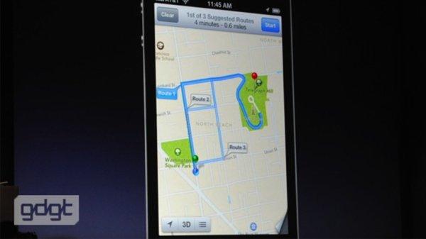 Apple abandonne Google Maps