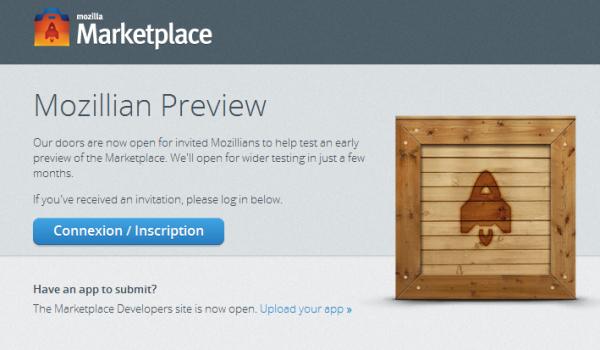 Mozilla lance Mozilla Marketplace: sa plateforme d'applications