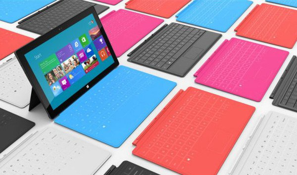 Microsoft Surface : tablette 10,6 pouces sous Windows 8