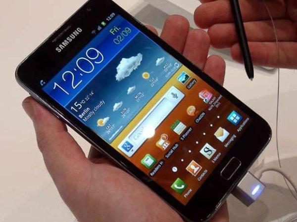 Galaxy Note 2 – Processeur quad core-écran incassable et sortie en octobre ?