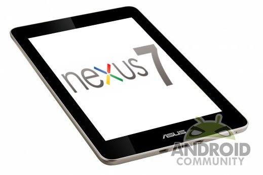 Google dévoile sa tablette: La Nexus 7