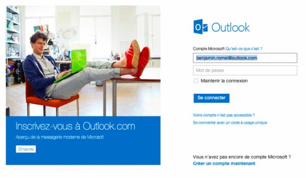 Hotmail devient Outlook.com