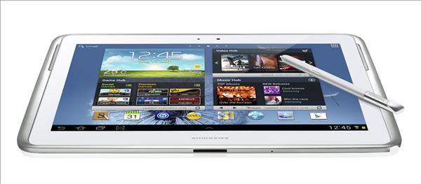 Galaxy Note 10.1 : Samsung dévoile sa nouvelle tablette tactile... et son stylet