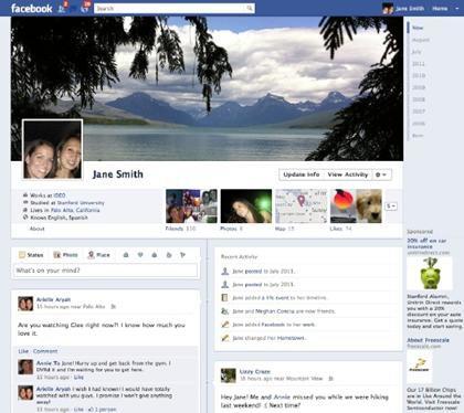 Facebook aurait volé l'idée de la Timeline