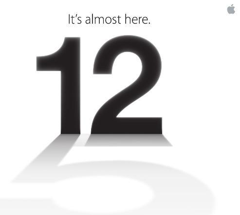 IPhone 5: Présentation le 12 Septembre