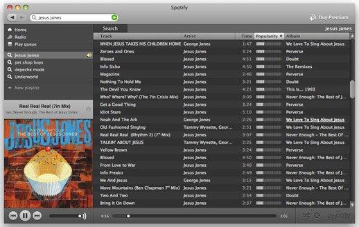Spotify pourrait lancer une version web de son service