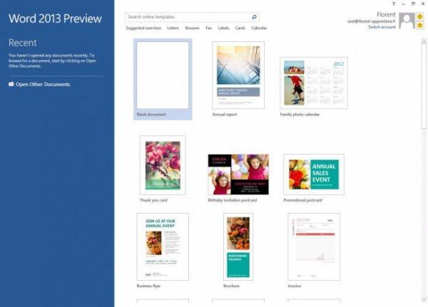 Office 2013 détaillé par Microsoft