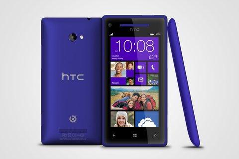 HTC annonce les Windows Phone 8X et 8S