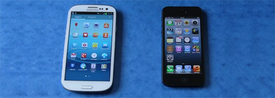 IPHONE 5 VS. GALAXY S3 : LE CHOC DES TITANS