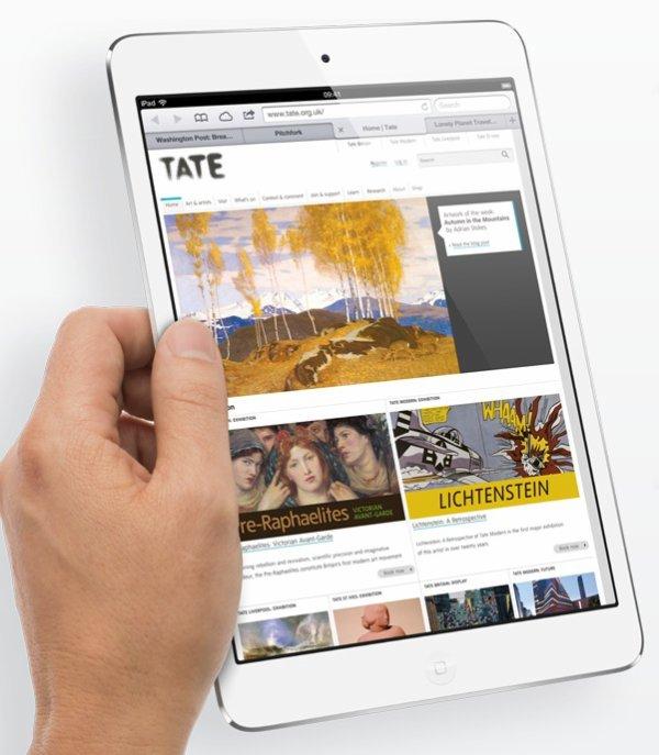 iPad Mini pour concurrencer la Nexus 7