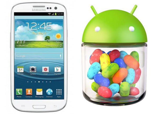 Jelly Bean 4.1 disponible sur le Samsung Galaxy S3