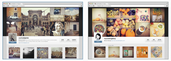 Instagram débarque sur Internet