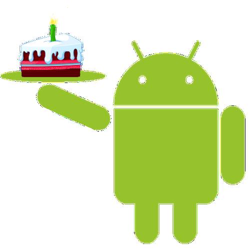 Android fête son cinquième anniversaire