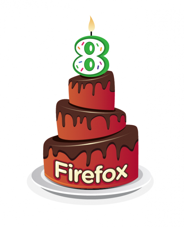 Mozilla Firefox fête ses 8 ans !