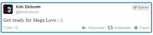 Mega: Kim Dotcom alimente la rumeur sur Twitter