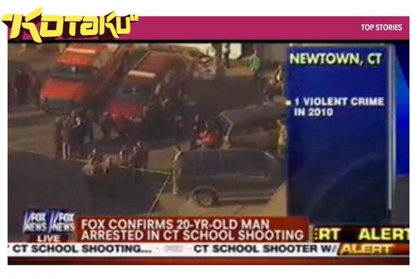 Les jeux vidéo et Facebook (évidemment) responsables du massacre de Newtown ?