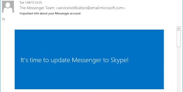 Windows Live Messenger : le 15 mars, c'est terminé